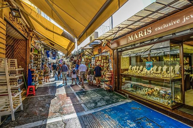 קניות ביוון